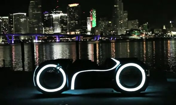 playboy tron motorcycle